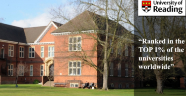 Felix Scholarship at University of Reading in UK 2021